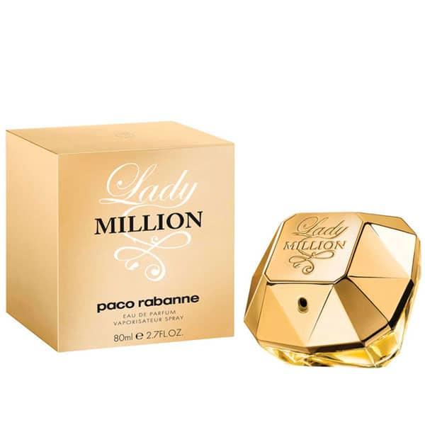 ادو پرفیوم زنانه Lady Million پاکو رابان حجم 80 ML